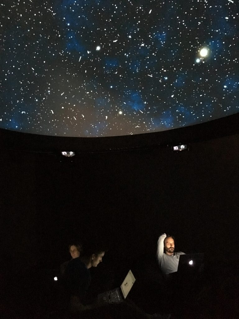 Black Shoals; Dark Matter by Lise Autogena and Joshua Portway,ArtScience Museum Singapore, Big Bang Data, Marina Bay Sands, 2016