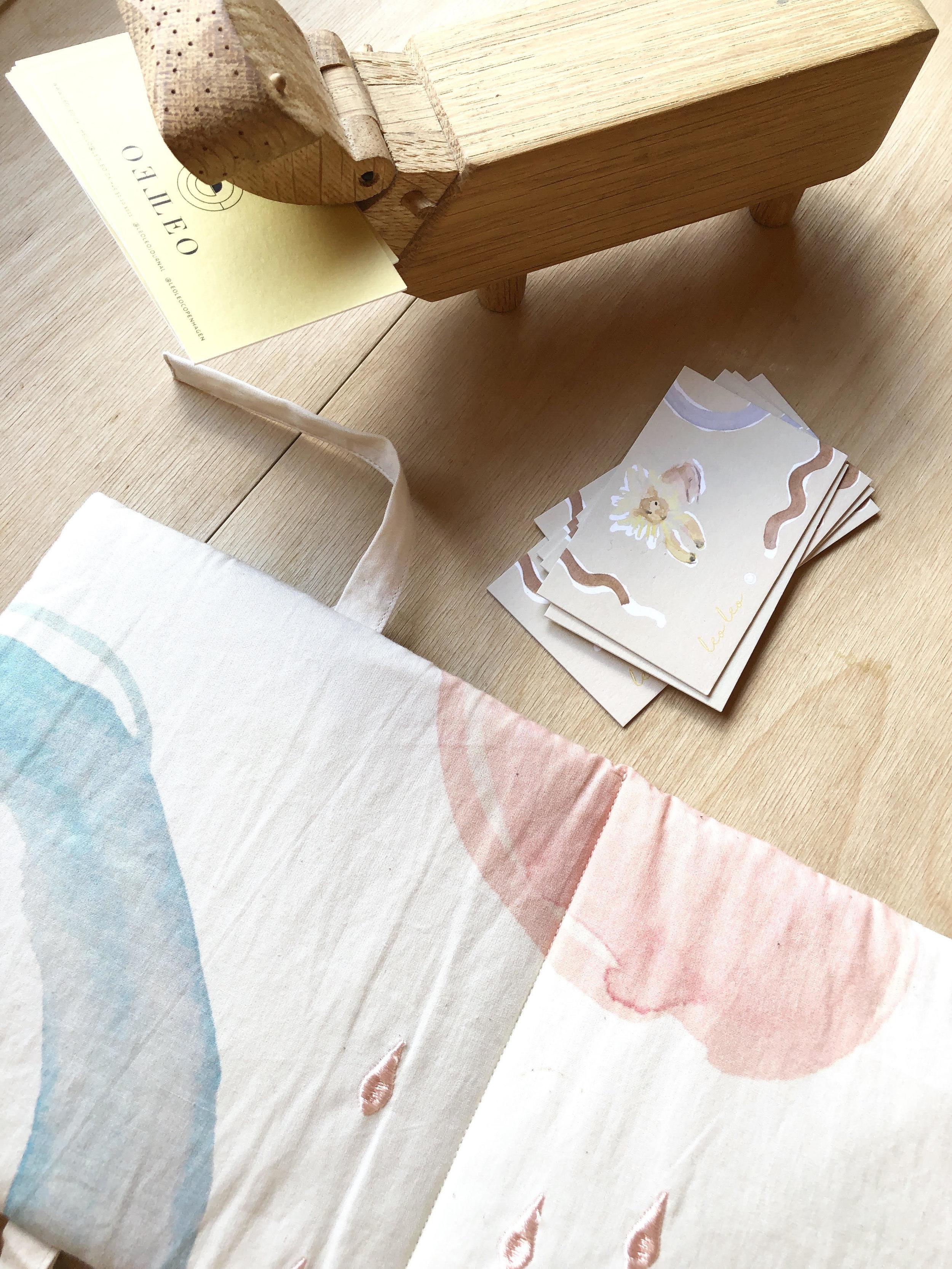 Fabric book from Leo Leo.