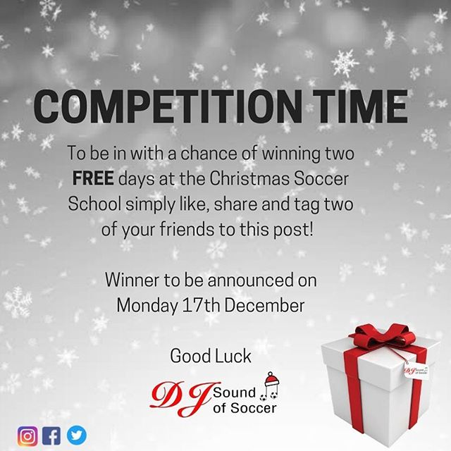 Head over to our Facebook Page to enter our Christmas Competition!