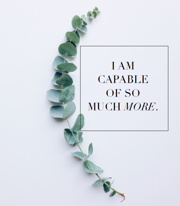 I Am Capable Free Printable