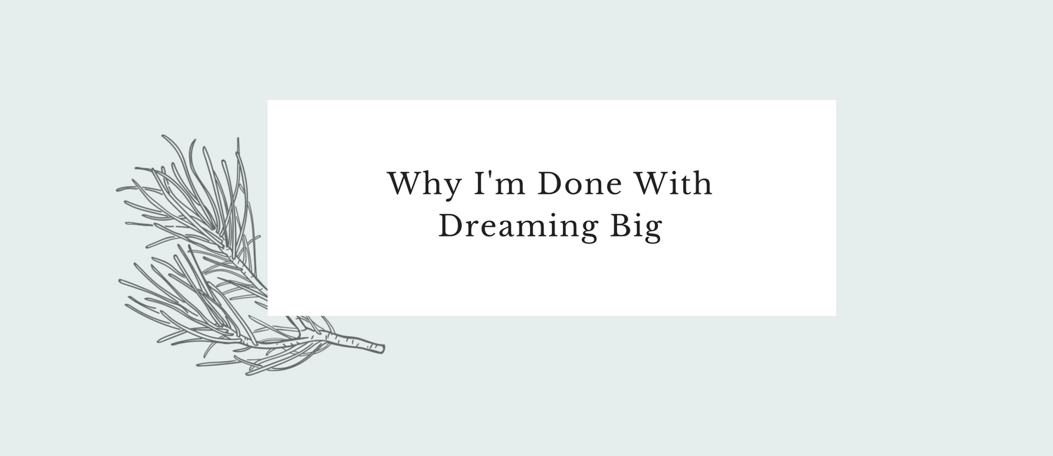 Why I'm Done With Dreaming Big.png