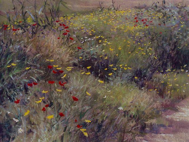 Roadside flowers  32 x 43   2.jpg