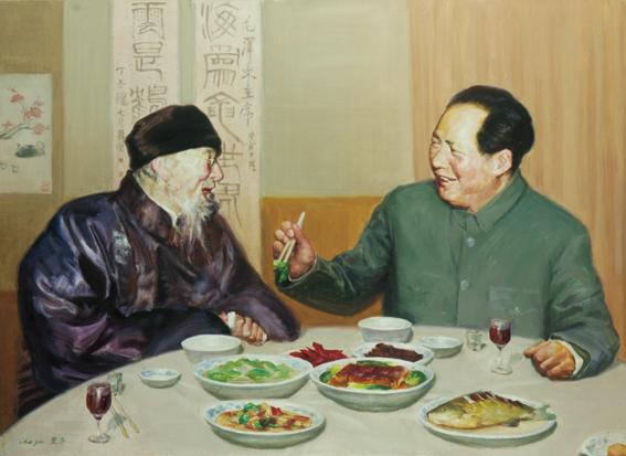 家乡菜(老乡见老乡)-毛泽东与齐白石.jpg