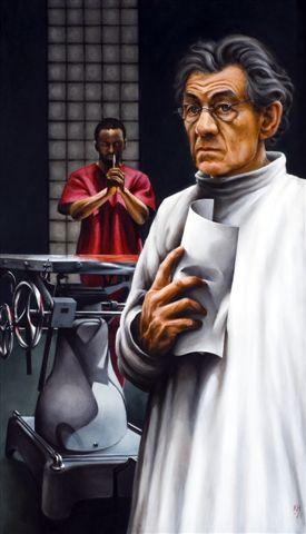 Ian McKellen, The Cut. Donmar,oil, 79 x 45.5.jpg