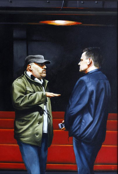 Mark Revenhill and Michael Grandgae in discussion of The Cut, 67 x 45.jpg