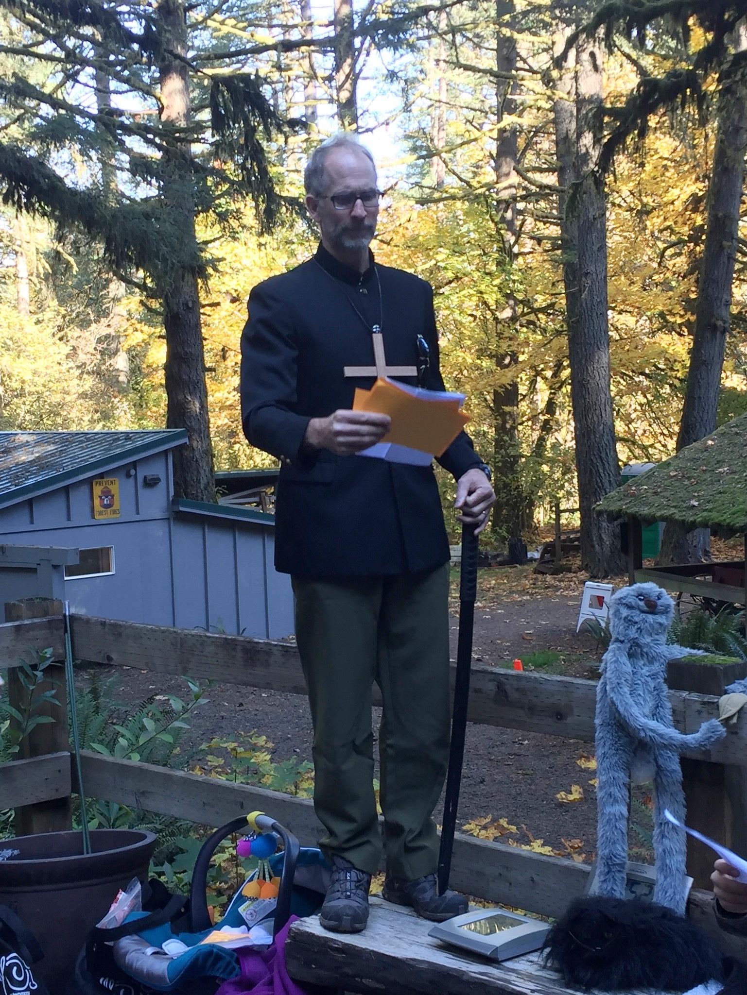 Meet director Herr Professor Vampire Researcher Mike Bruns