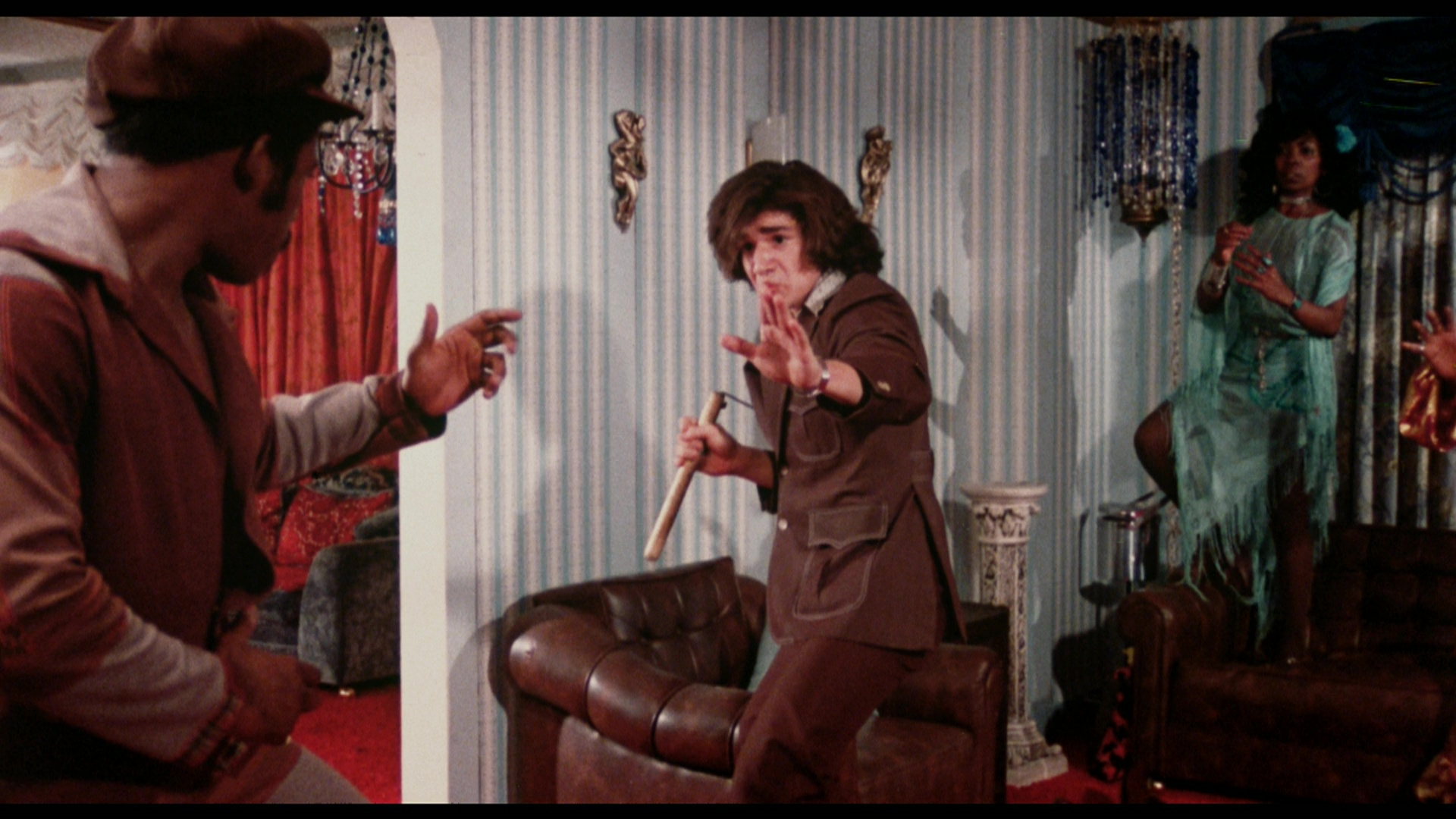 Rudy Ray Moore in  THE HUMAN TORNADO  -- out this week on Blu-Ray!