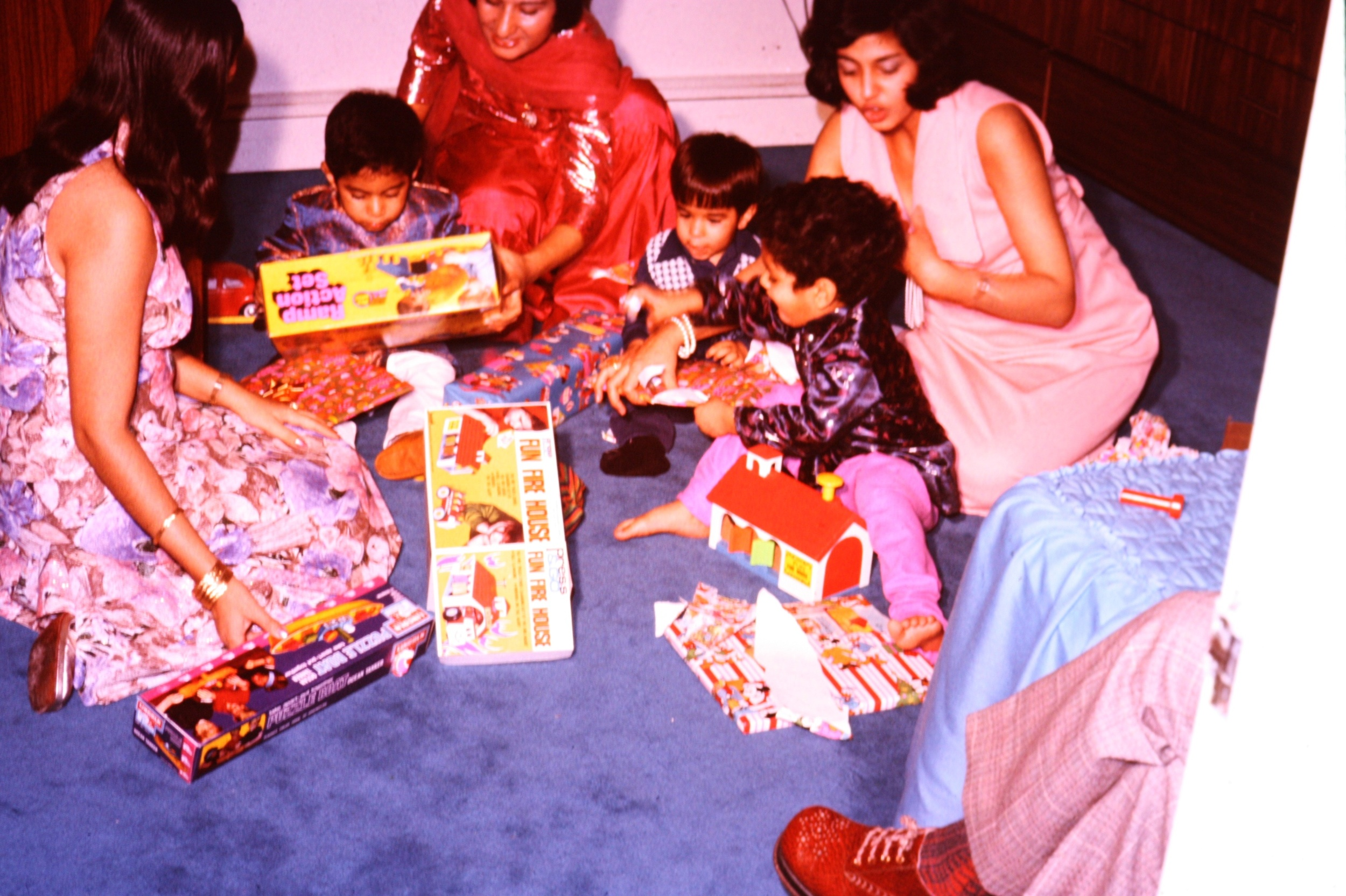 Christmas-izing Muslim holiday of Eid, replacing Eidees (cash gift) with toys.