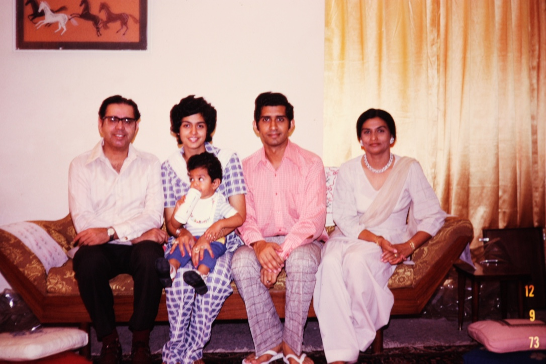 First visit back to Pakistan, with a baby.