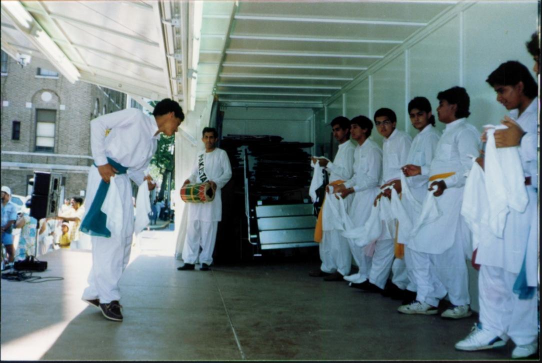 Culture celebrated: Khattak dance at Snug Harbor.