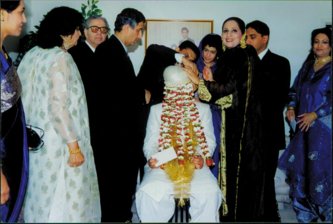 Sehra Bundi: Veiling the groom