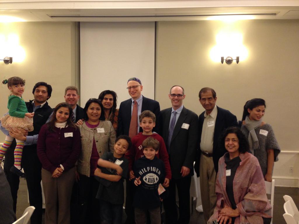 Interfaith Seder at Brotherhood Synagogue