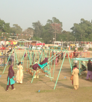 Only last week:  Jash-e-Baharan  in the park