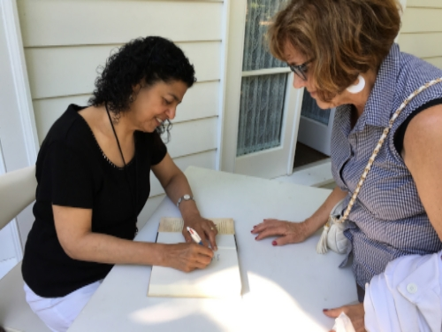 Booksigning following the Islam 101 lecture series