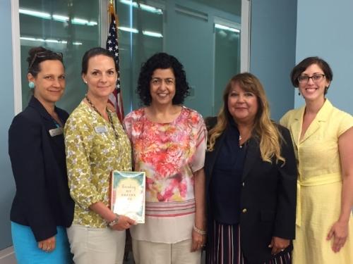 Diane Matyas (S.I. Museum), Cheryl Adolph (CEO & President, Staten Island Museum), Yours Truly, Debra Feaser (Edward Jones), and Amanda Stranieri (S.I. Museum)