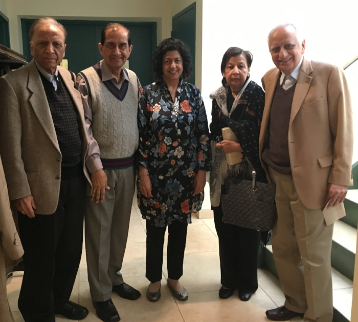 With the founders of ICLI, Dr. Jamil Khan, Dr. Farida Khan, and Dr. Faroque Khan