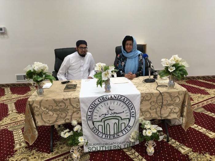 With Imam Anas Shaikh