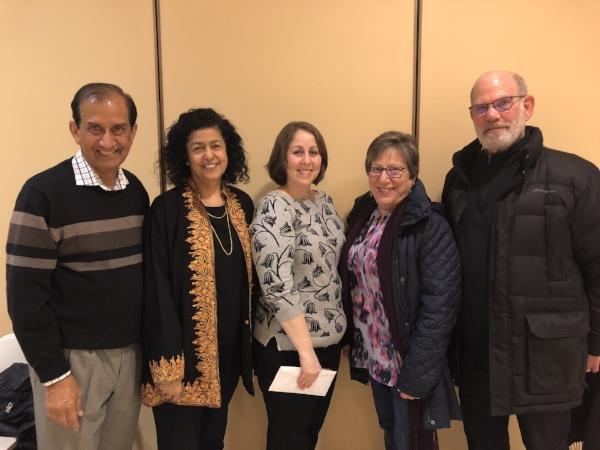 Rabbi Ellie Miller, Carol Marin, Matt Marin