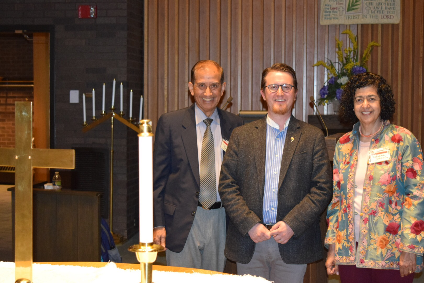 With Rev. Jesse Tanner