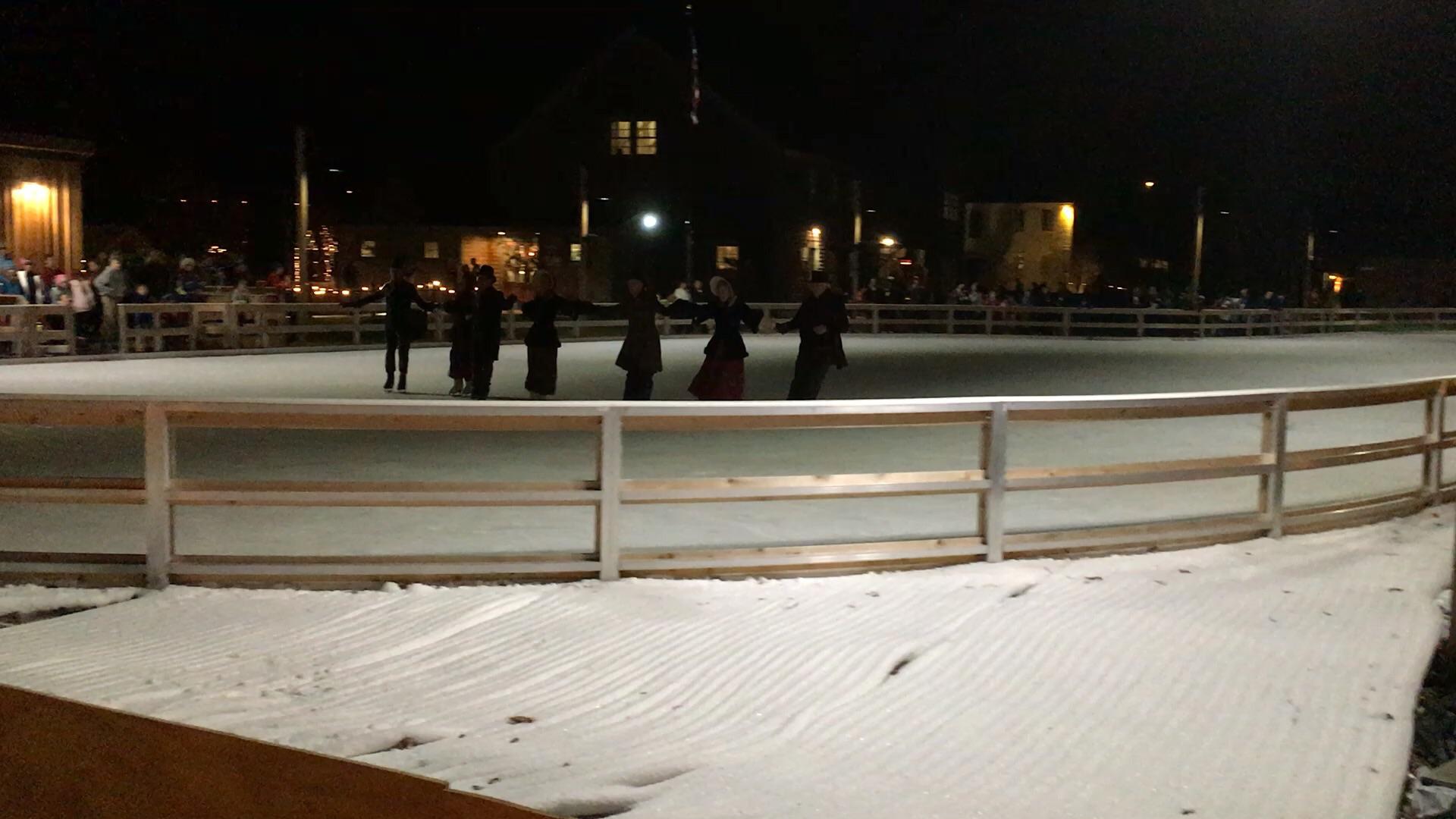 Skating at the Banke