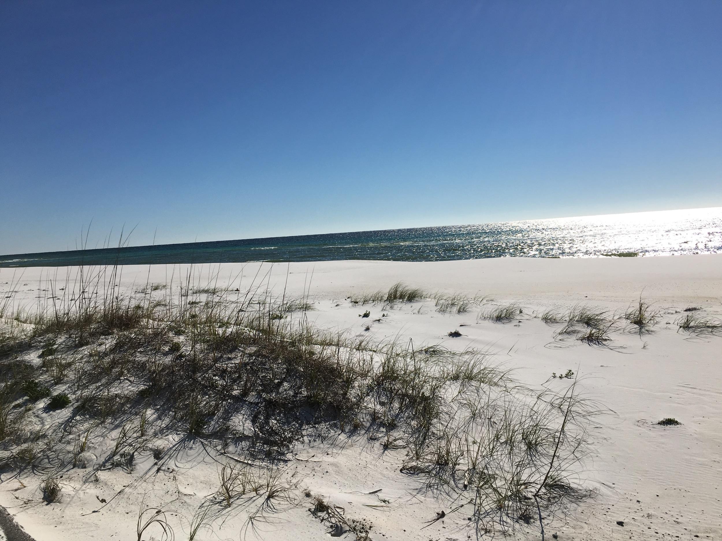 Miles of sand dunes
