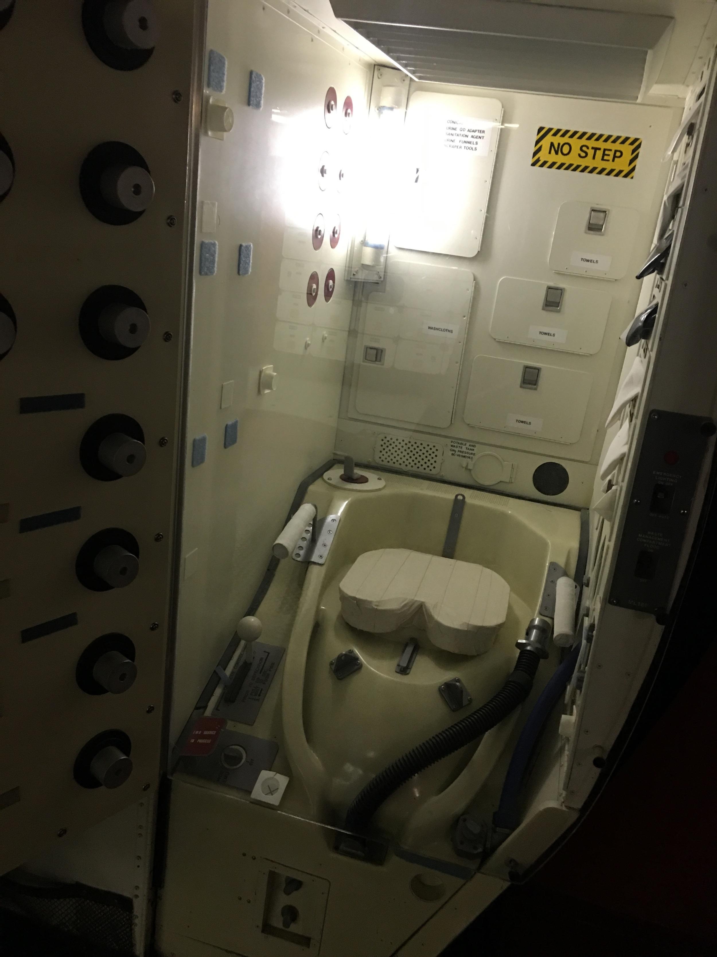 Space potty
