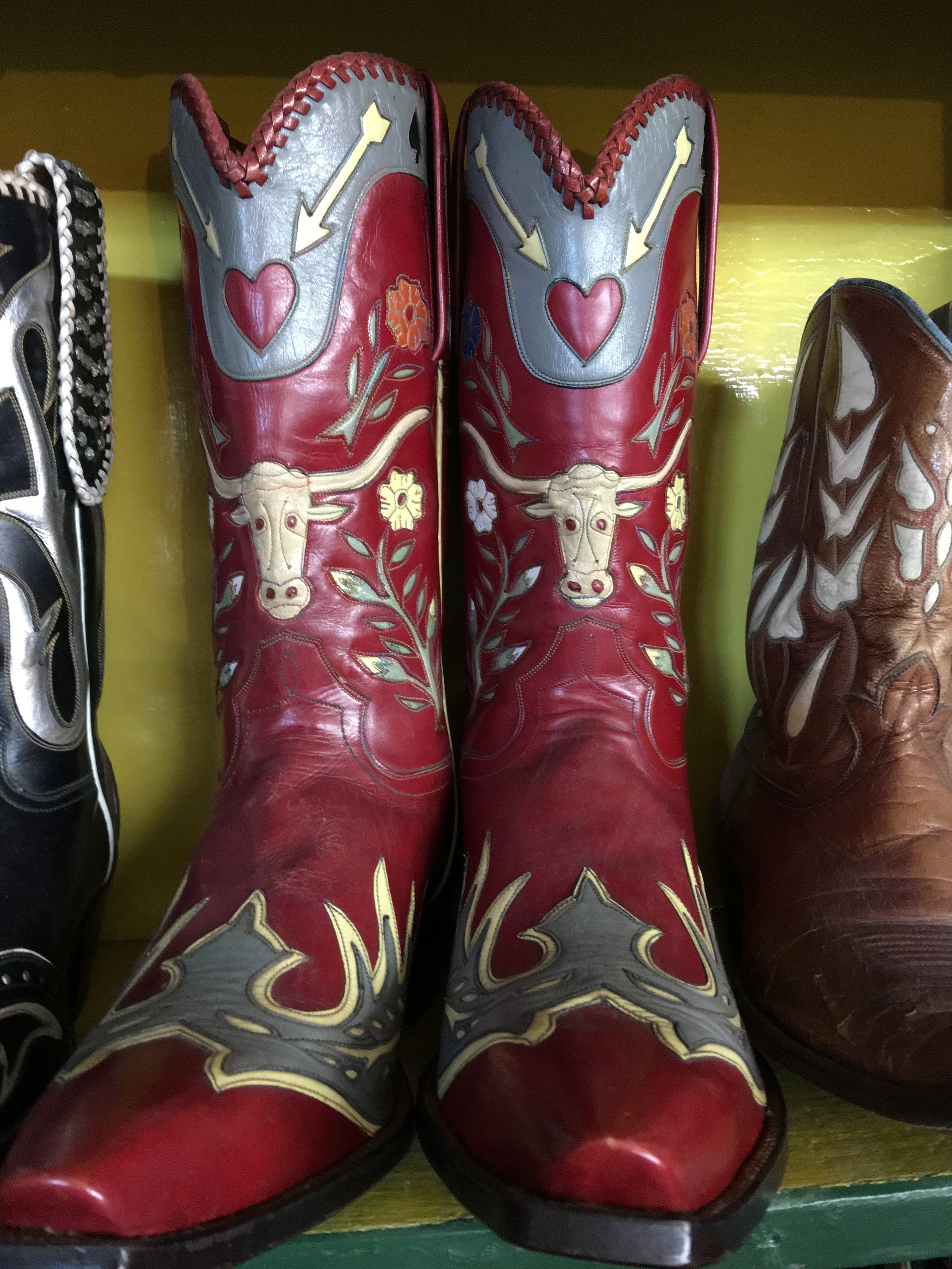Gene Autry commissioned this pair and autographed them.