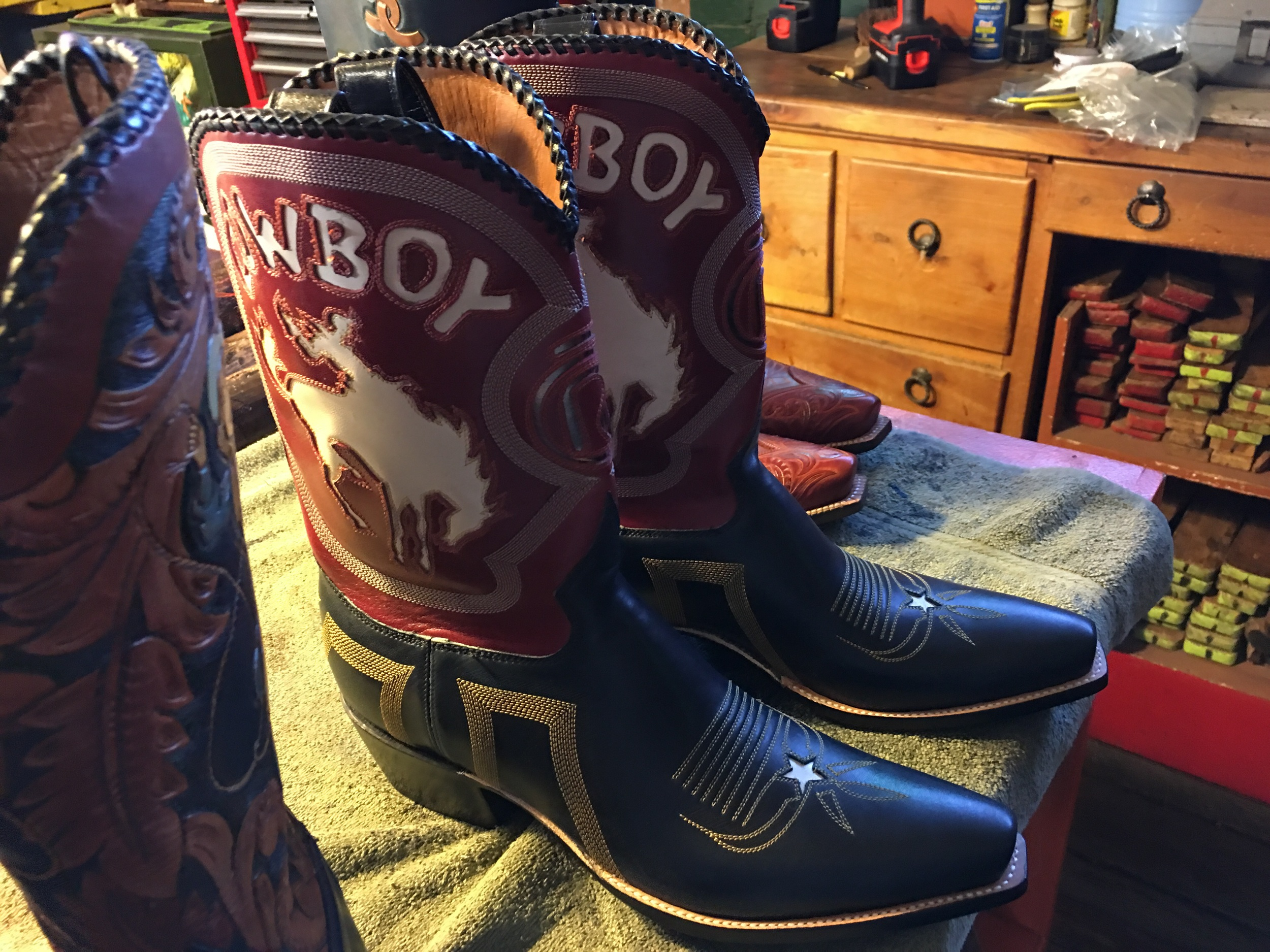One more pair of Lone Star cowboy boots