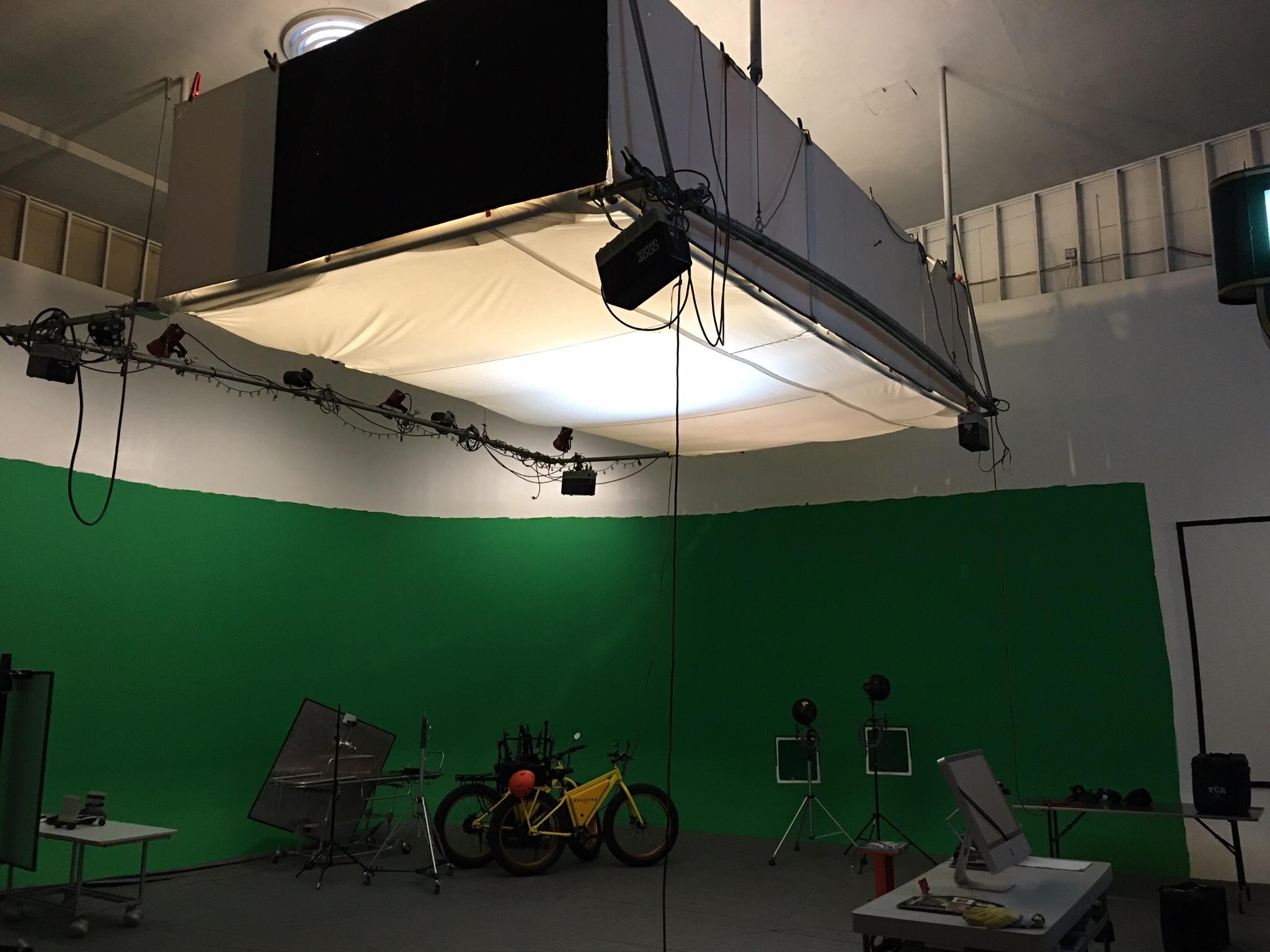 Marty's studio