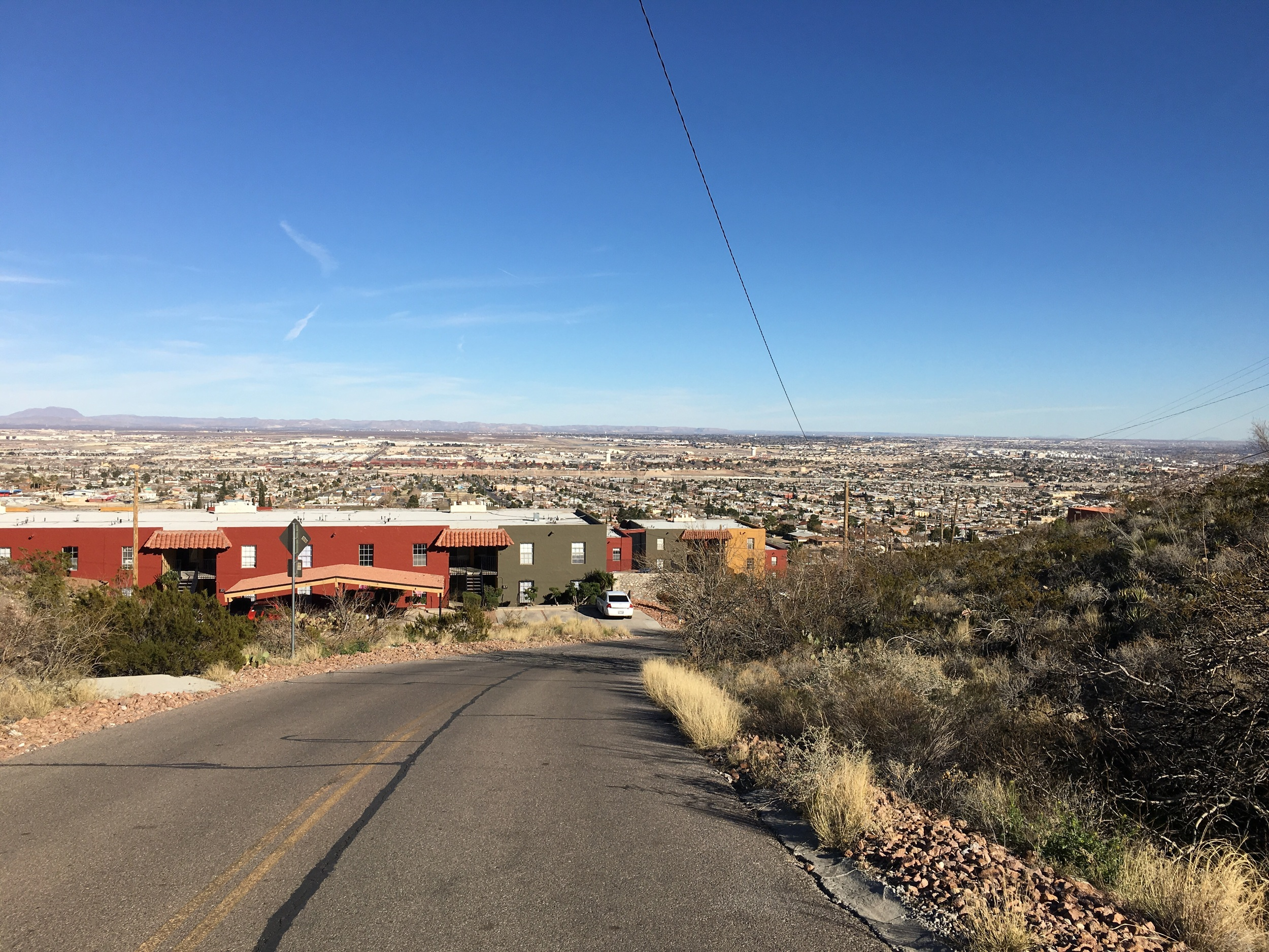A  view of the El Paso sprawl