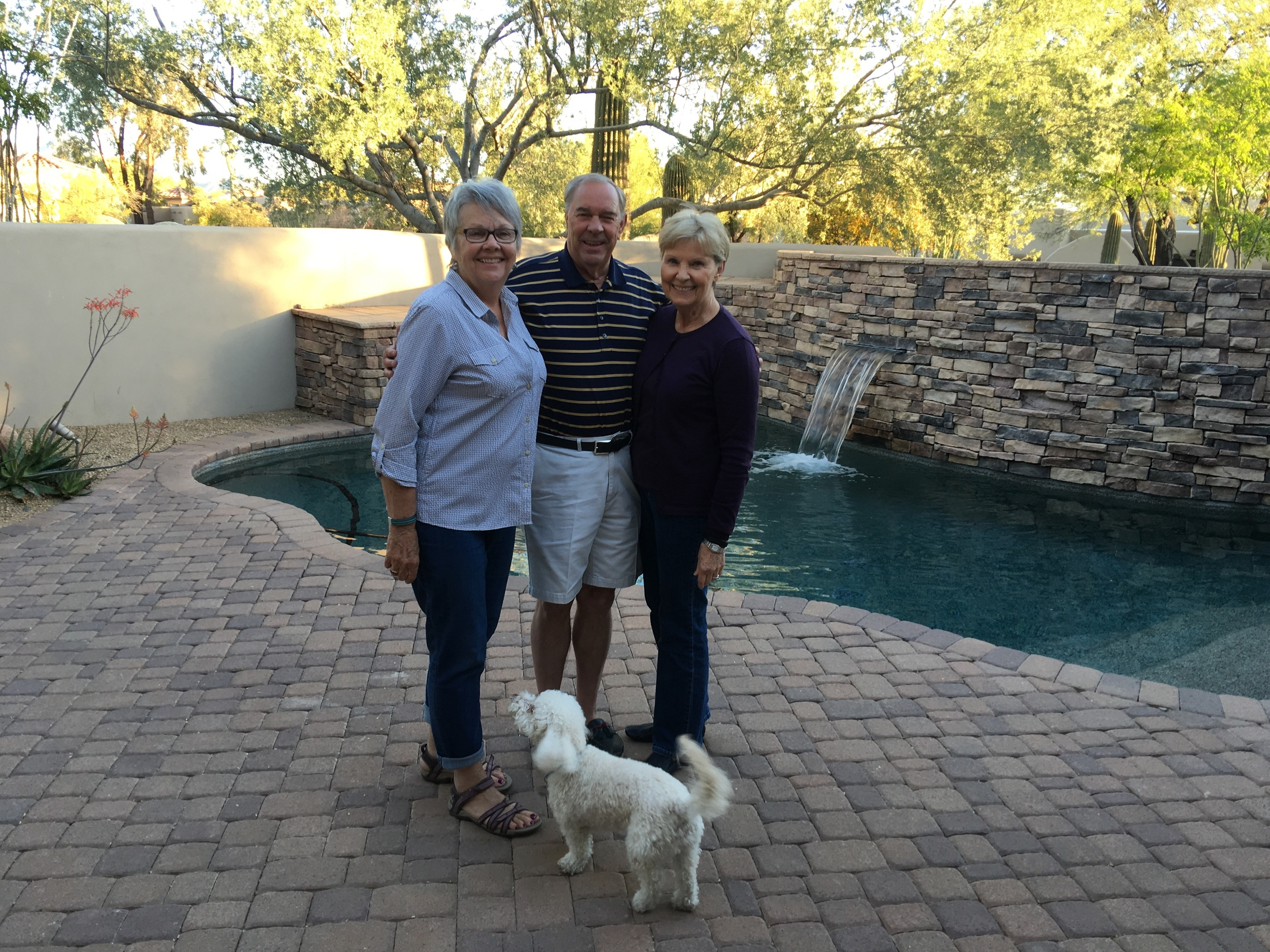 Barb and Ray Madorian, Shaklee Master Coordinators invited us to their home in Scottsdale for a lovely dinner.