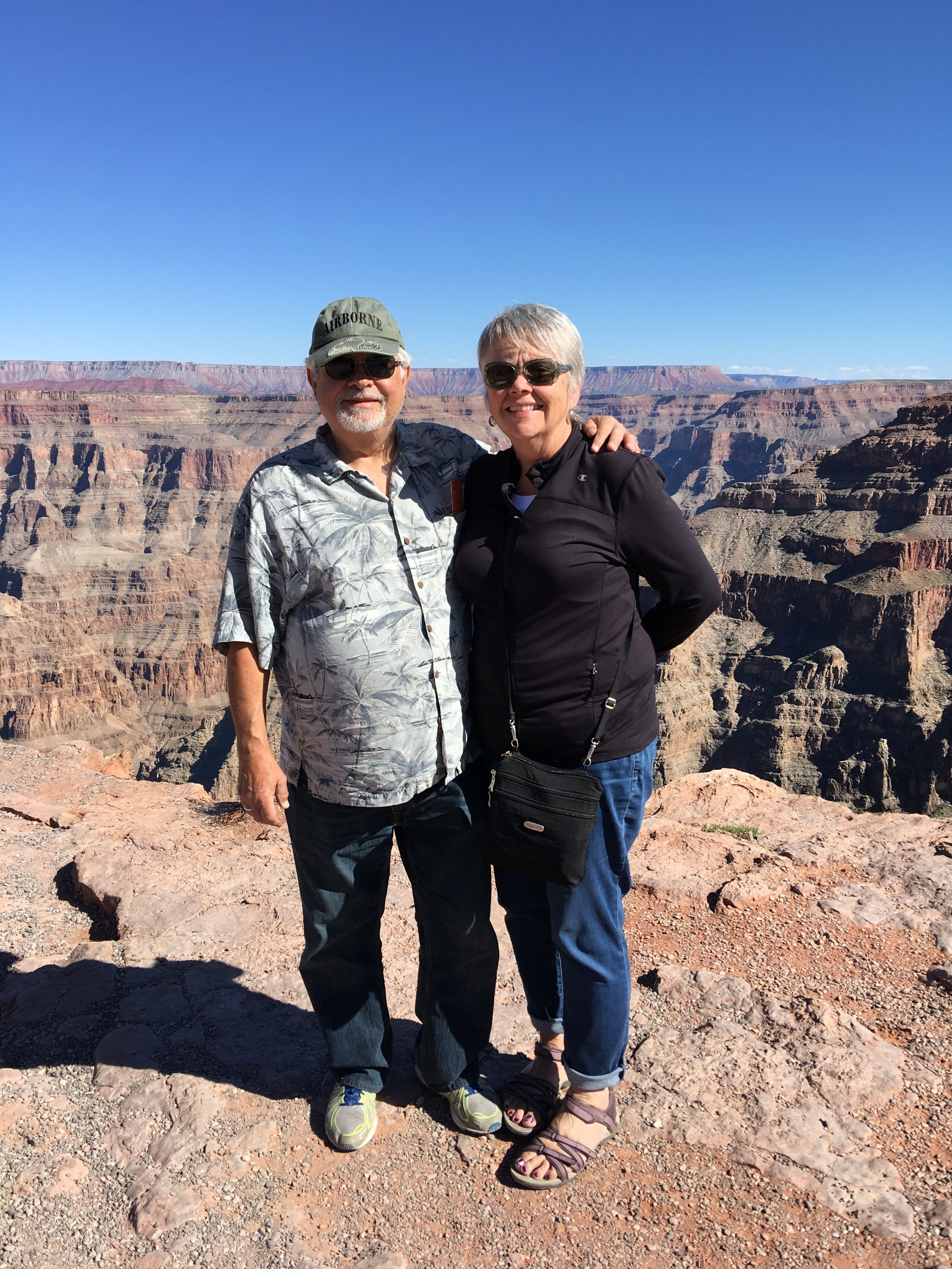 Tourists at the Grand Canyon
