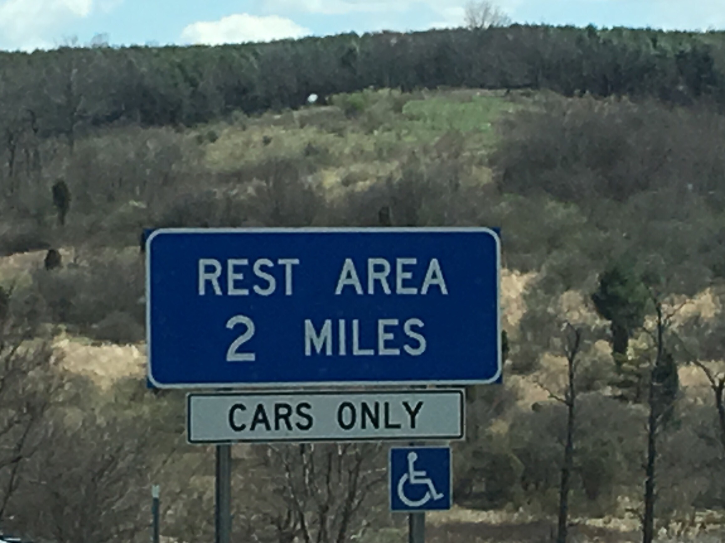 The Virginia I 81 rest areas are not RV friendly!