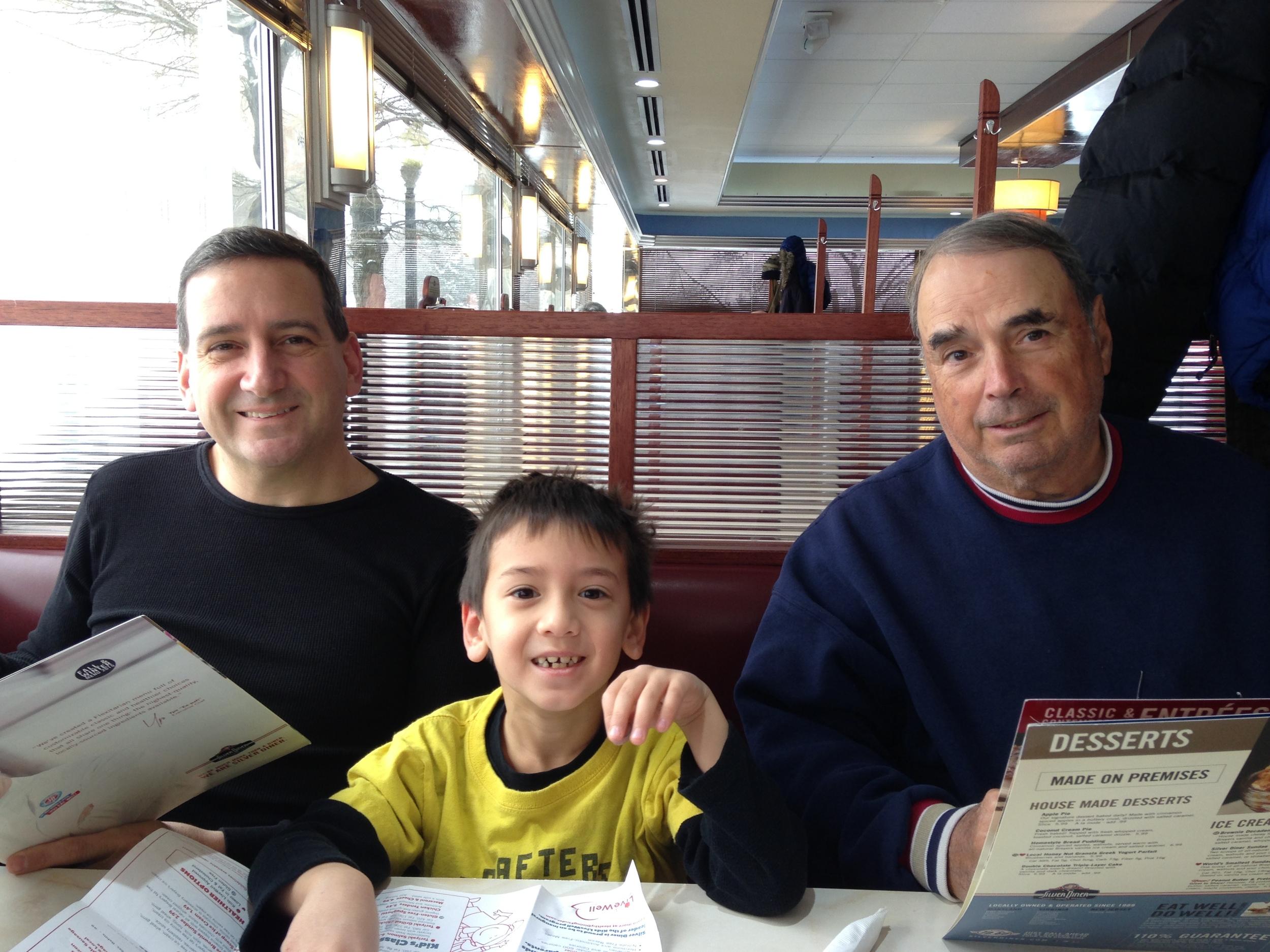 3 generations of Cipullo boys