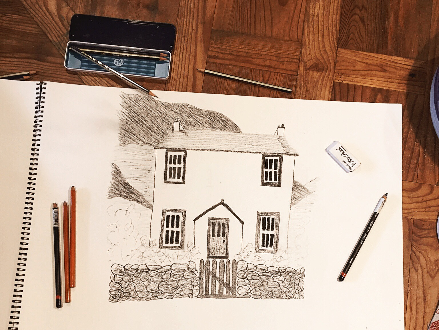And All Is Always Now | Tisha Bender | Cottage Sketch
