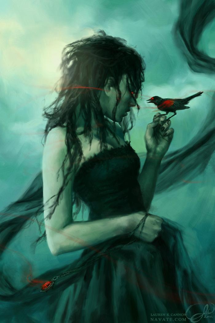 Black Bride - ImagineFX commission
