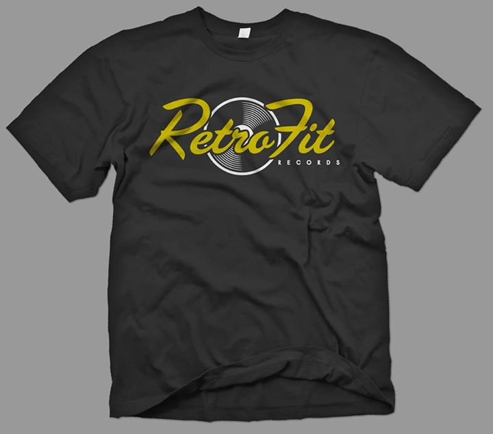 'OG RETROFIT' LOGO (METALLIC GOLD/WHITE/BLACK COLORWAY)