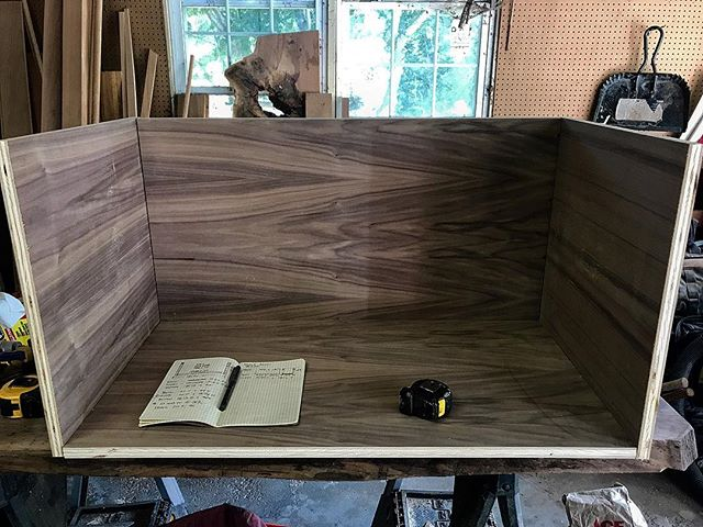 The beginnings of a walnut vanity. . . . . .  #contemporaryart #modern #sketch #sculpture #painting #contemporary #ink #draw #fineart #moneymaker #startup #entrepreneurlife #entrepreneurs #entrepreneurlifestyle #entrepreneurship #onlinemarketing #motivational #millionairemindset #successful #millionairelifestyle #connecticut #ctvisit #scenesofnewengland #scenesofct #connecticutgram #explorect #iphoneography #iphoneonly #iphonesia #iphoneography