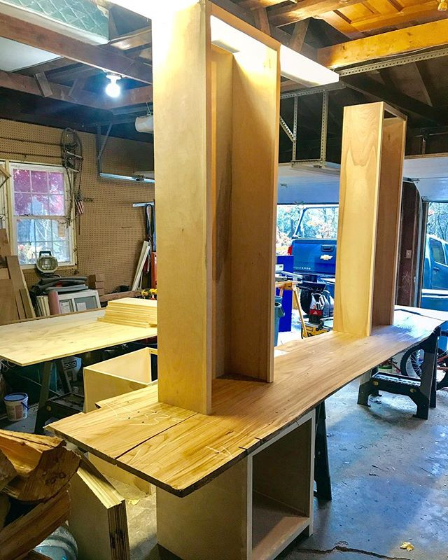 Laying out my next project. Custom built-inns with a live edge desk.  #woodworking #wood #handmade #woodwork #woodworker #furniture #woodcraft #interiordesign #wooden #woodart #carpentry #carpenter #furnituredesign #diy #woodcarving #wooddesign #decor #handcrafted #rustic #reclaimedwood #decoration #interior #craft #finewoodworking #woodturning #woodporn #woodworks #woodshop #craftsman