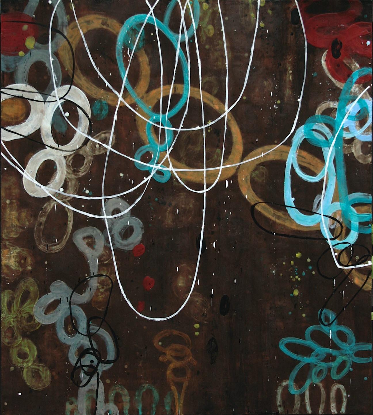 Untitled AA110, 54x48, on panel