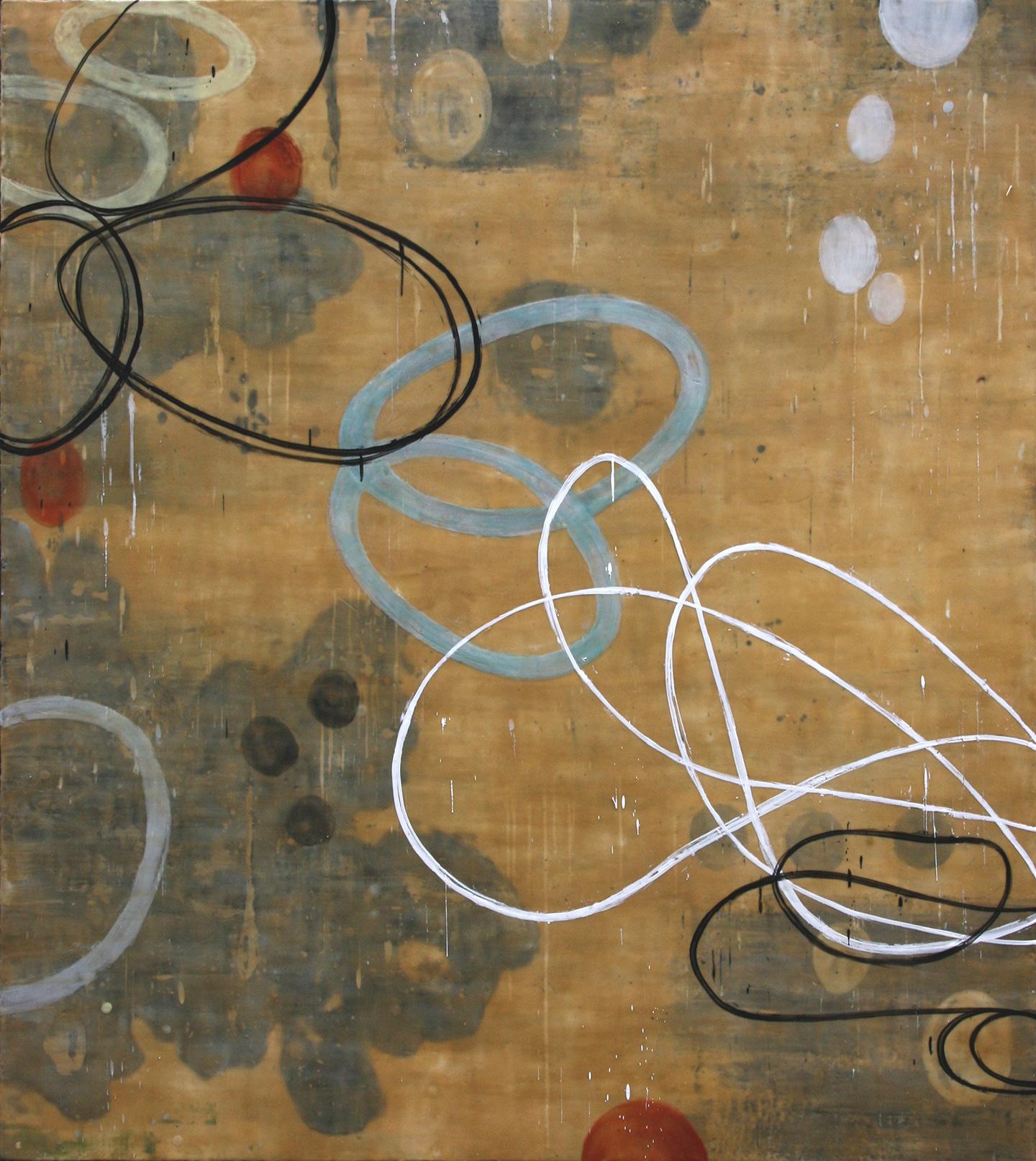 Untitled L819, 54x48, on panel