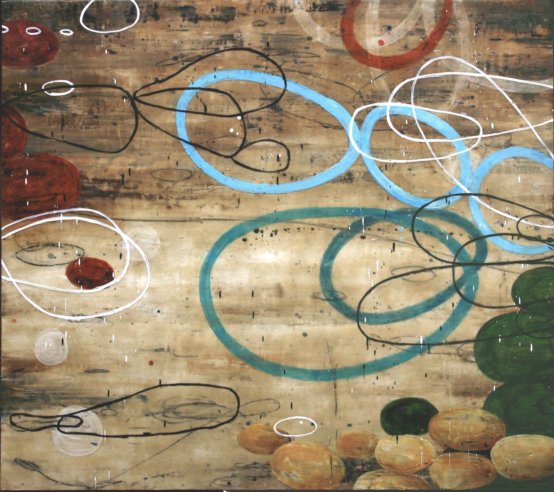 Untitled WW234, 48x54, on panel