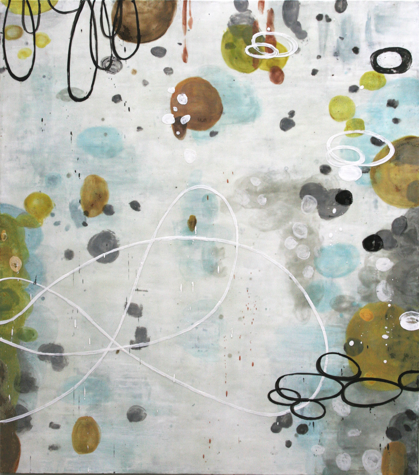Untitled WW236, 54x48, on panel