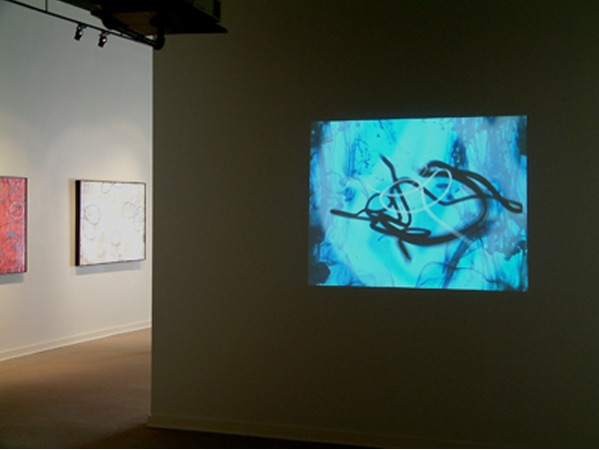 David Lusk Gallery, an animation install