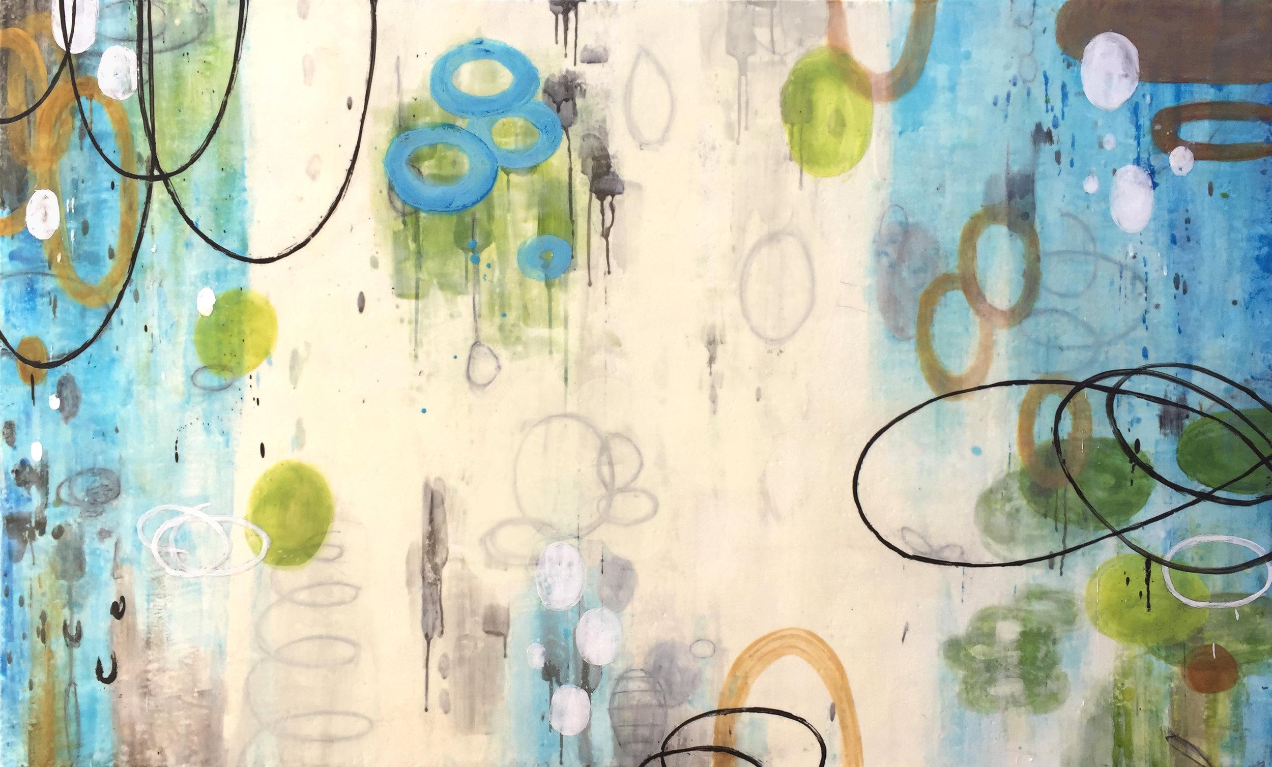 Untitled L866 (commission) 36x60 panel