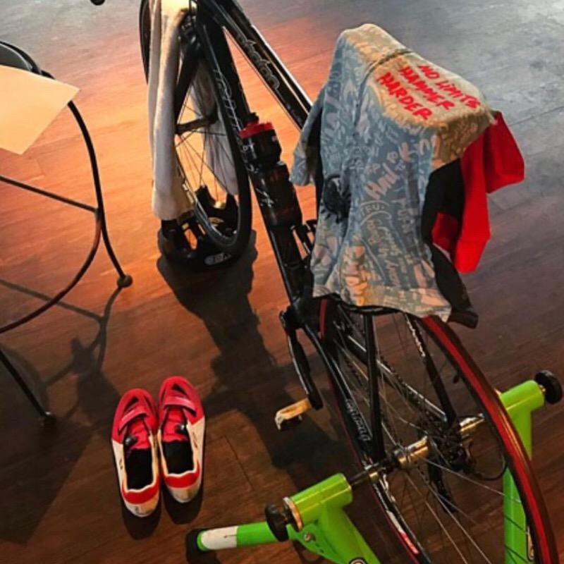 NLHH Kit draped on bike.JPG