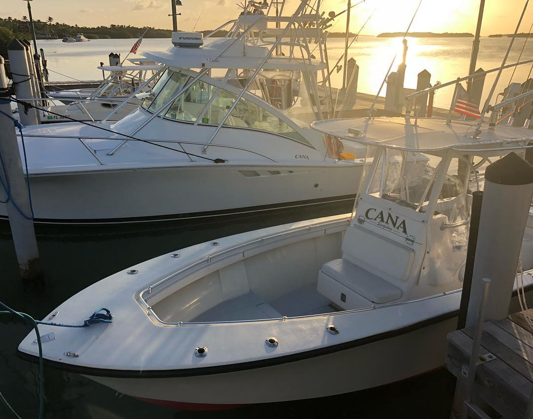CANA I  - 2003 Luhrs 32' Open - sportfishing yacht (party of 6)  CANA II  - 1977 SeaCraft 23 - center console (party of 4)
