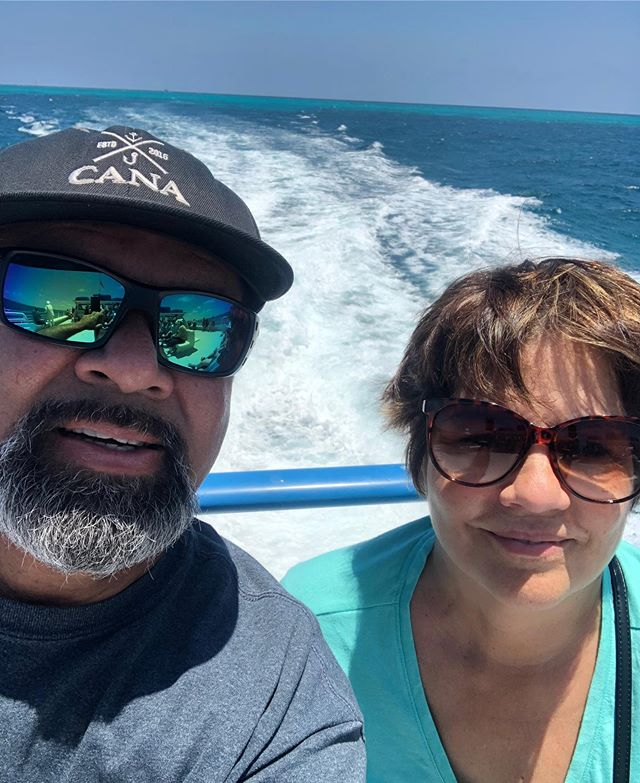 My folks stopped by the marina today, Dad's first ever visit to Islamorada after 30 years living in Florida. He gets it. Tell me another place like this paradise anywhere else in the world. For real. Sportsman's paradise #canasportfishing #bestfamintheworld #bestjobintheworld #lemmetakeyafishin #blessed #godsplan #islamorada #floridakeys #lovefl