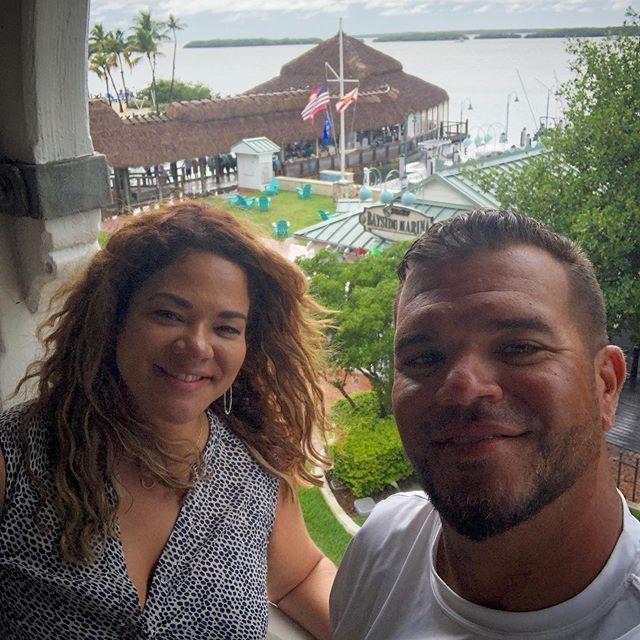 Proud of this lady @designdiva124 my big sis surprised me at the dock yesterday #canasportfishing #islamorada #floridakeys