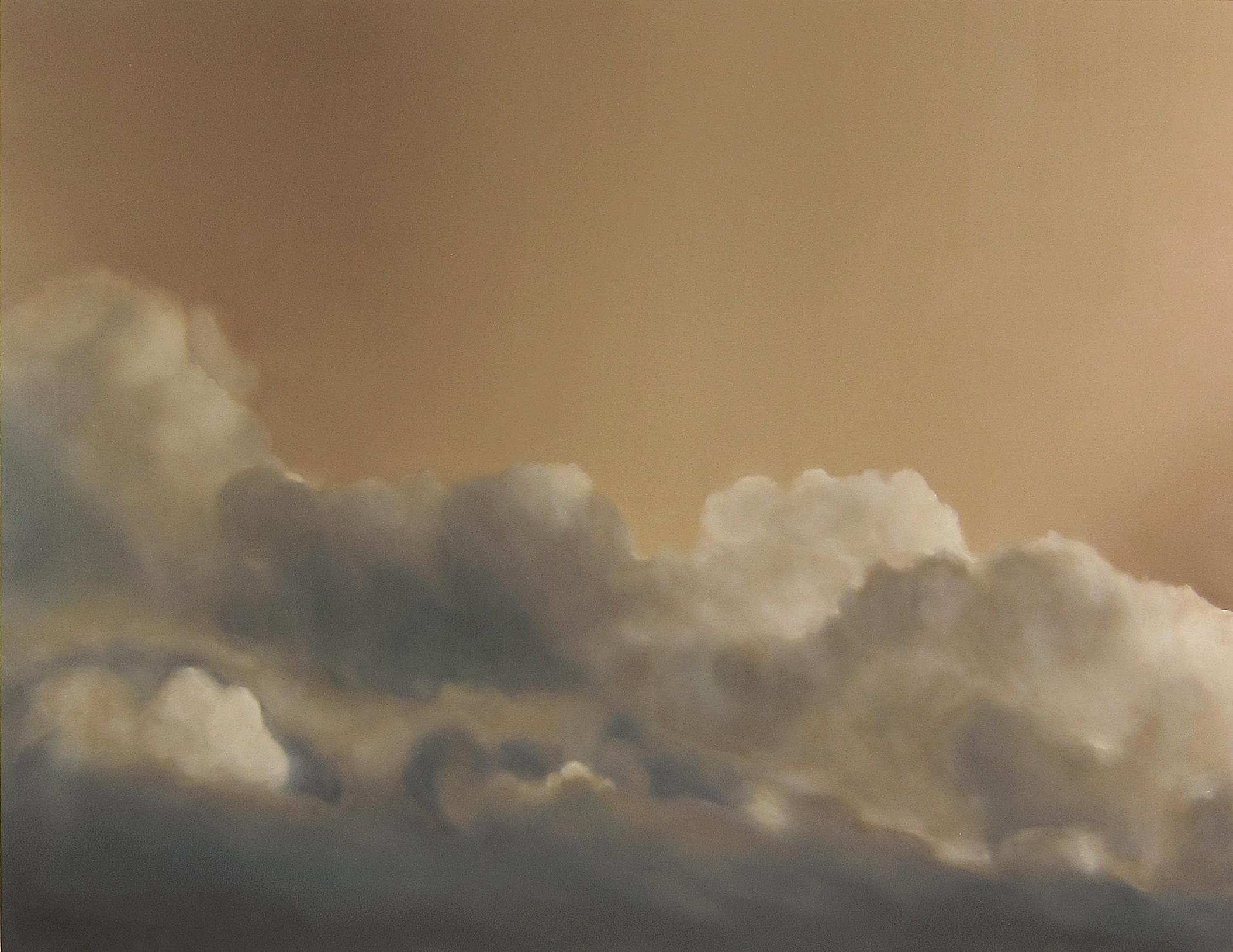 Soleils Mouillés , 2017  oil on linen, 60 x 78 in, 152 x 198 cm